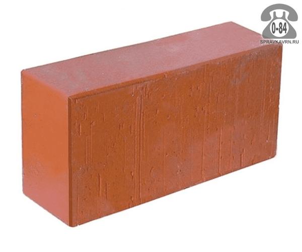 Кирпич рядовой керамический красный г. Семилуки