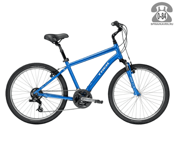 "Велосипед Трек (Trek) Shift 2 (2016), рама 19"", синий размер рамы 19"" синий"