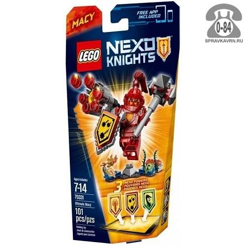 Конструктор Лего (Lego) Nexo Knights 70331 Абсолютная сила Мэйси, количество элементов: 101