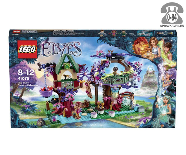 Конструктор Лего (Lego) Elves 41075 Дерево эльфов, количество элементов: 505