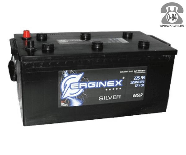 Аккумулятор для транспортного средства Эрджинекс (Erginex) 6СТ-225 обратная полярность 518*276*242 мм