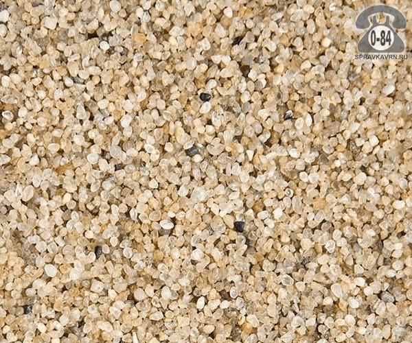 Песок кварцевый мешок 1.25 мм естественной влажности