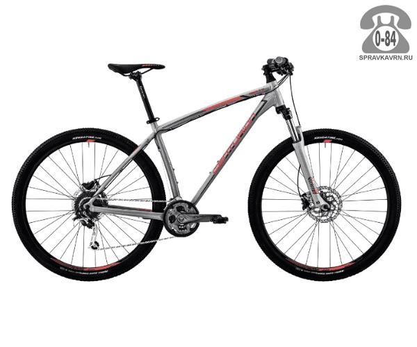 "Велосипед Центурион (Centurion) Backfire Pro 200.27 (2017) размер рамы 19.5"" серый"