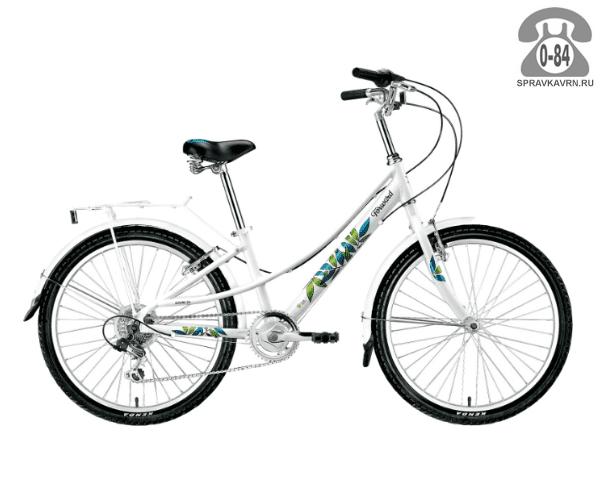 """Велосипед Форвард (Forward) Azure 24 (2017) размер рамы 13"""" белый"""