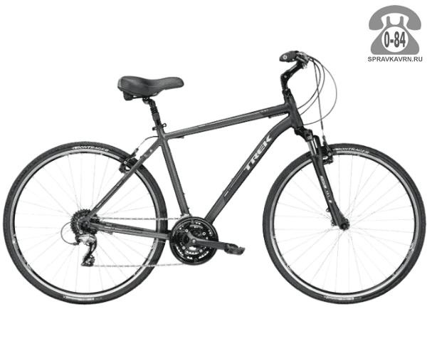 """Велосипед Трек (Trek) Verve 3 (2016), рама 18"""" размер рамы 18"""" черный"""