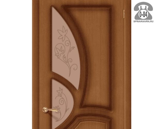 Листовое стекло Левша, фабрика Грация для двери ПО-60 бронзовое