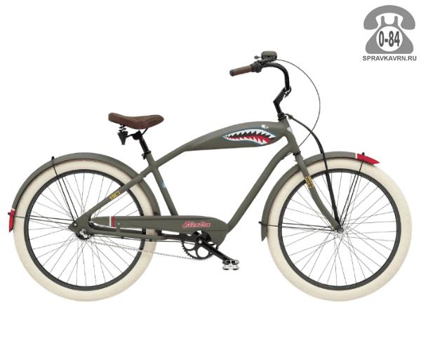 Велосипед Электра (Electra) Cruiser Tiger Shark 3i Mens (2016)
