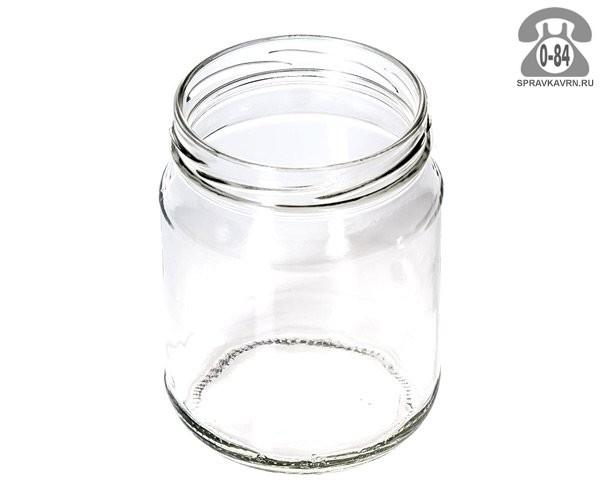 Банка стеклянная Твист-82 стандартная 0.5 л