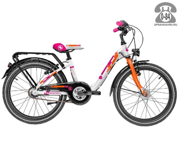 Велосипед Скул (Scool) chiX comp 20 3-S (2017), белый