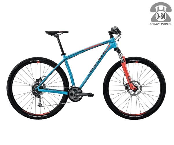 "Велосипед Центурион (Centurion) Backfire Pro 100.29 (2017) размер рамы 21.5"" синий"