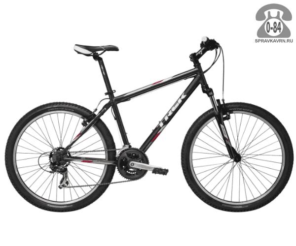 """Велосипед Трек (Trek) 820 (2016), рама 23"""" размер рамы 23"""" черный"""