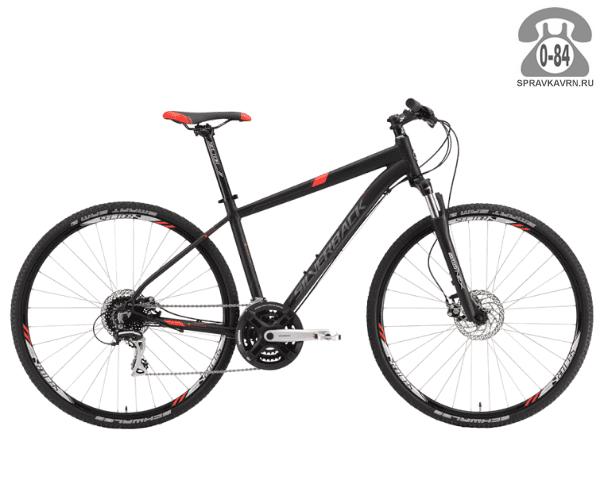 """Велосипед Сильвербэк (Silverback) STRIDE 20 (2016), рама 20.5"""", черный размер рамы 20.5"""" черный"""