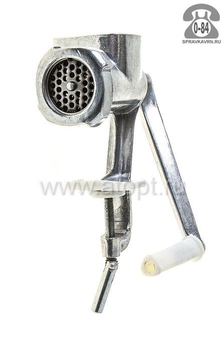 мясорубка ручная Мотор Сич 1-МА-С алюминиевая (Снежное)