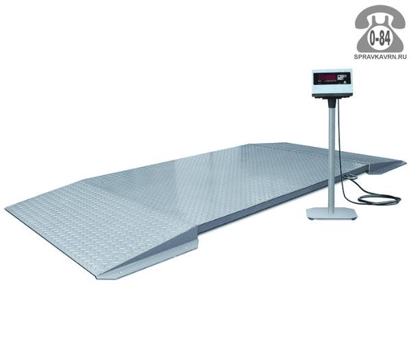 Весы товарные ВП-600-150х100 Стандарт К платформа 1500*1000мм 600кг точность 200г