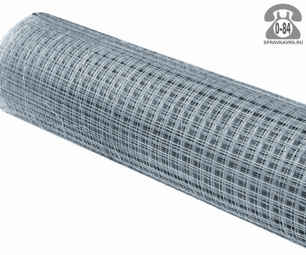 Строительная сетка диаметр 1.4мм  ячейка 50x25мм ширина 1м