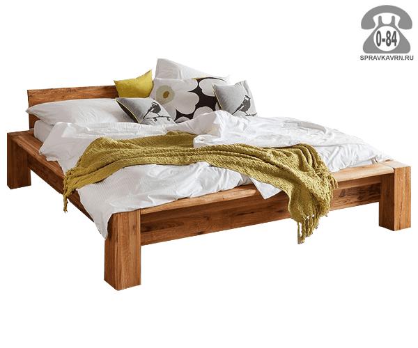 Кровати Riva лофт 2-спальная массив дуба 1-ярусная (одноярусная) 2300 мм 850 мм 1900 мм масло тик Белоруссия