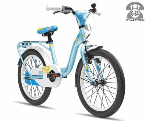 Велосипед Скул (Scool) niXe 18 alloy (2017), голубой