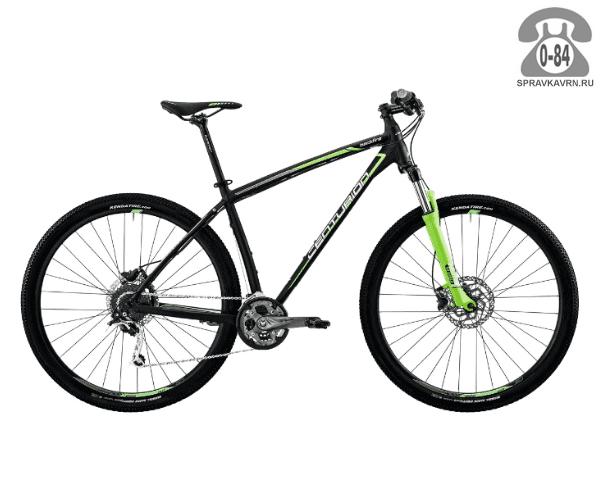 """Велосипед Центурион (Centurion) Backfire Pro 200.29 (2017) размер рамы 21.5"""" черный"""