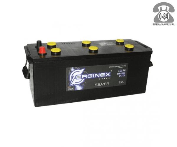 Аккумулятор для транспортного средства Эрджинекс (Erginex) 6СТ-132 прямая полярность 513*189*230 мм