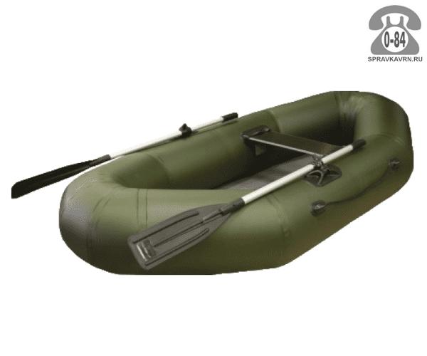 Лодка надувная Фрегат М-11, зеленая
