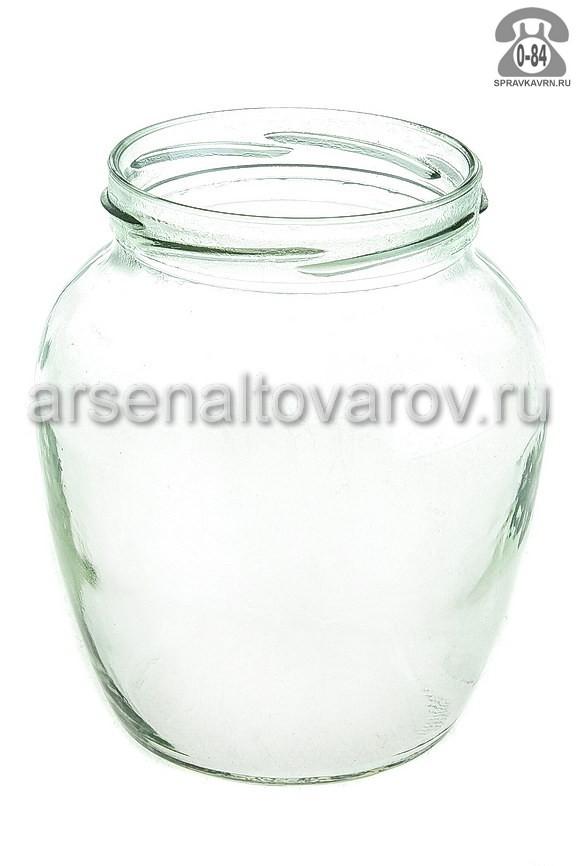 Банка стеклянная Твист-82 фонарь 0.72 л