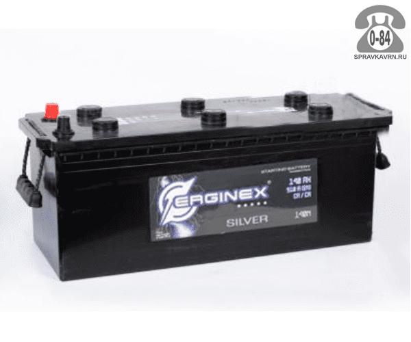 Аккумулятор для транспортного средства Эрджинекс (Erginex) 6СТ-140 обратная полярность 513*189*230 мм