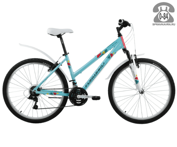 "Велосипед Форвард (Forward) Seido 26 1.0 (2017) размер рамы 17.5"" зеленый"
