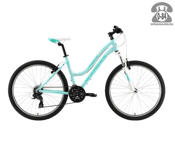 "Велосипед Сильвербэк (Silverback) SPLASH 26 (2016), рама 16.5"" размер рамы 16.5"" голубой"