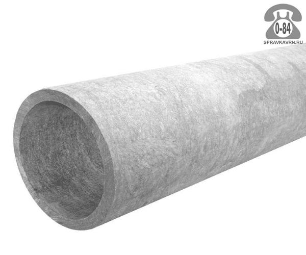 Асбоцементная труба БТ 100ммx3.95м, толщина стенки 7мм