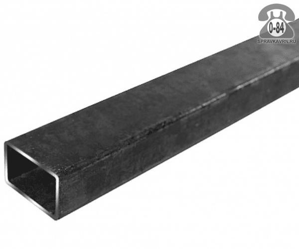 Профильные стальные трубы 40*25 2 мм 3 м