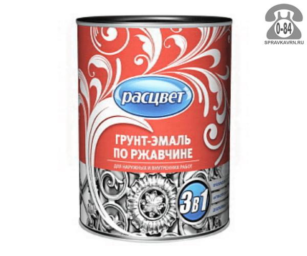 Грунт-эмаль Расцвет алкидно-уретановая 1.9 кг серый г. Ростов-на-Дону