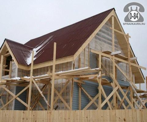 Дом капитальный одноквартирный (индивидуальный, коттедж) лёгкие стальные тонкостенные конструкции (ЛСТК) каркасный (сборный, модульный) быстровозводимый строительство