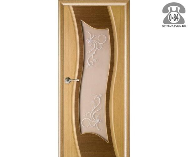 Дверь межкомнатная деревянная распашная массив дуба