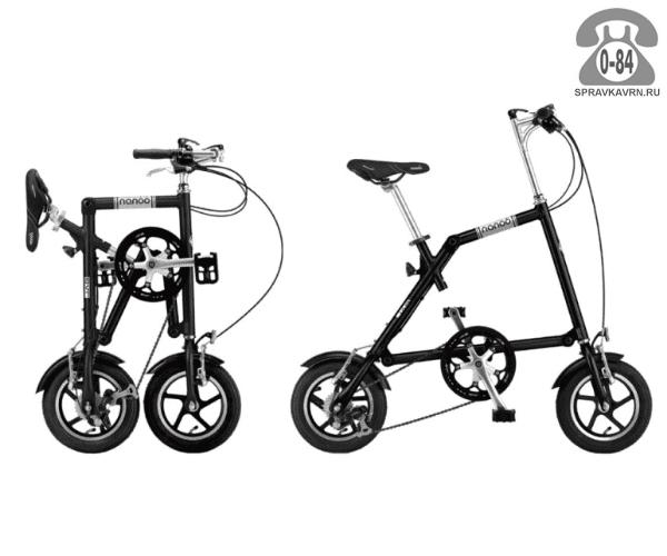 Велосипед Нэну (Nanoo) 127 (2016), черный