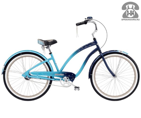 Велосипед Электра (Electra) Cruiser Night Owl 3i Ladies (2016)