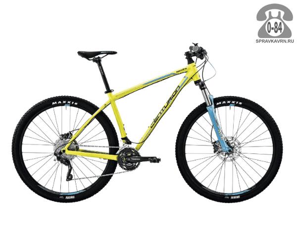 """Велосипед Центурион (Centurion) Backfire Pro 400.27 (2017) размер рамы 15.5"""" желтый"""