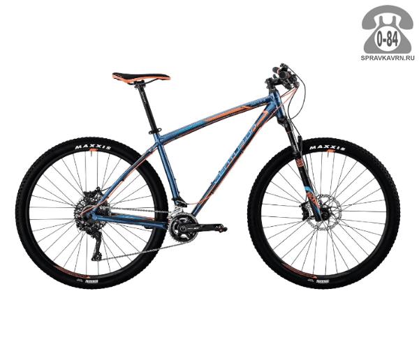 "Велосипед Центурион (Centurion) Backfire Pro 900.29 (2017) размер рамы 19.5"" синий"