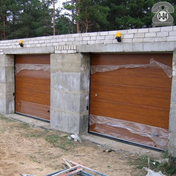 ворота гаражные секционные купить в кредит в воронеже