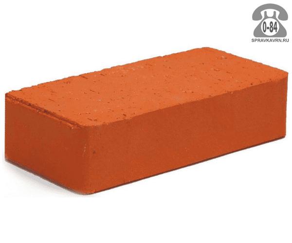 Кирпич рядовой керамический Энгельсский кирпичный завод М200 одинарный 1НФ 250 мм 120 мм 65 мм гладкая полнотелый красный F100 на поддонах г. Энгельс