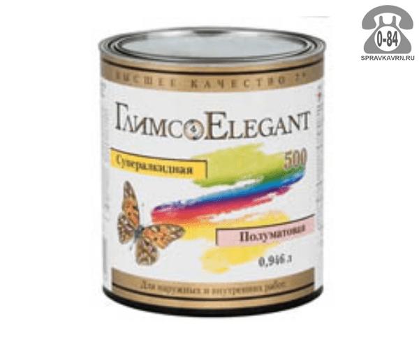 Краска, эмаль Глимс Elegant 500