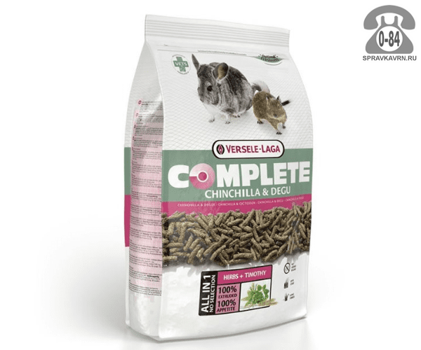 Корм для животных Версель Лага (Versele-Laga) Complete Chinchilla & Degu 461313