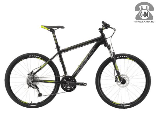 """Велосипед Сильвербэк (Silverback) STRIDE 10 (2016), рама 20.5"""", черный размер рамы 20.5"""" черный"""
