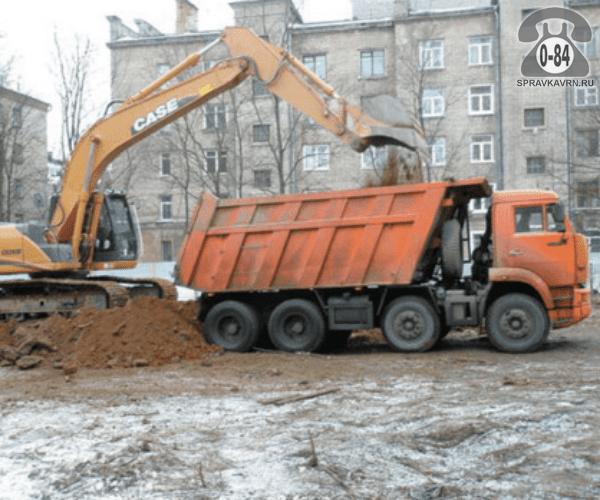 Доставка груза автомобилем земля (грунт, чернозём) внутригородские г. Воронеж