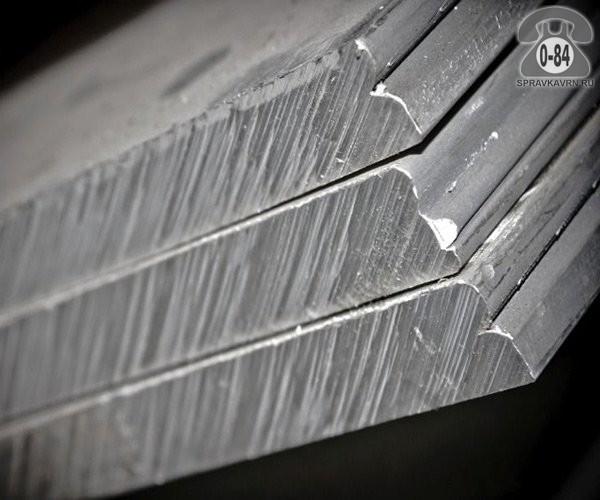 Плита металлическая алюминиевая АМц