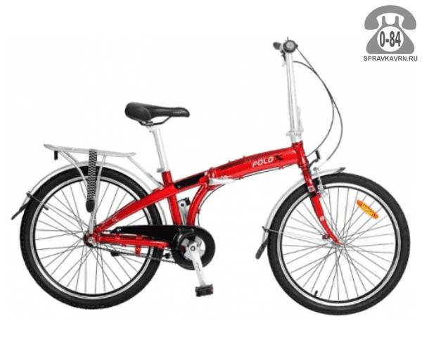 Велосипед Фолдикс (FoldX) Sport 24 (2017) красный