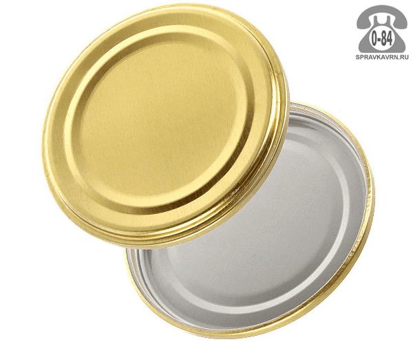 Крышки для банок СКО 1-82 полиэтиленовая (ПЭ) для холодного  консервирования 50 шт. Россия