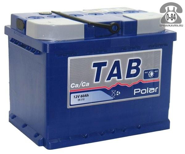 Аккумулятор для транспортного средства ТАБ (TAB) Polar s