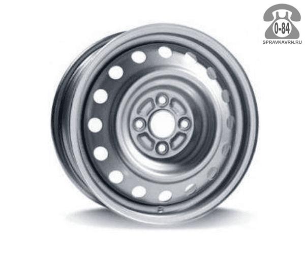"""Диск КФЗ (KFZ) 3790 13"""" ширина 5"""" крепежных отверстий 4 диаметр расположения отверстий 98 мм вылет колеса (ET) 29 мм диаметр центрального отверстия 59 мм"""