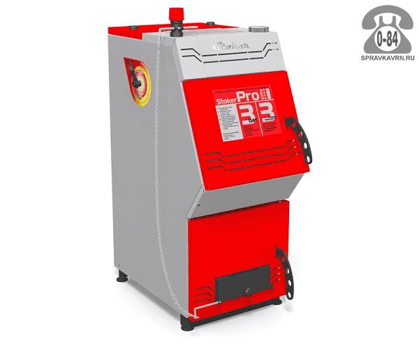 Отопительная печь Ермак Stoker Pro 25-Э 250м3 26кВт, 480x950мм