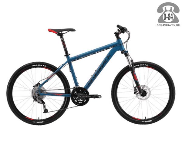 "Велосипед Сильвербэк (Silverback) STRIDE 10 (2016), рама 20.5"", синий размер рамы 20.5"" синий"